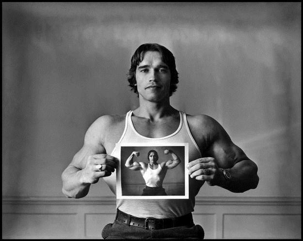 Awesome Vintage Photos Of Arnold Schwarzenegger 001