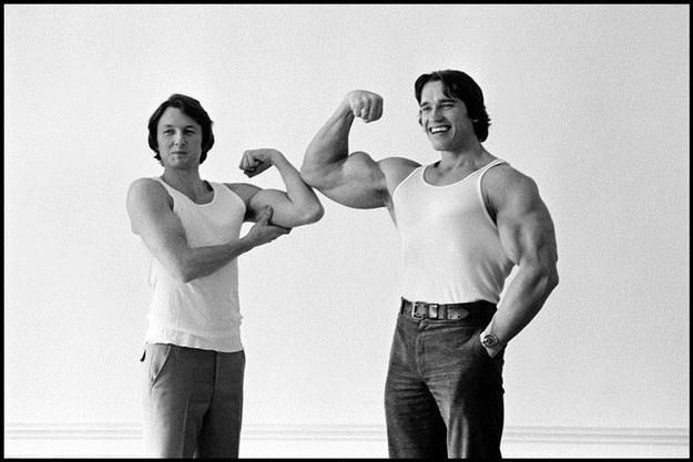 Awesome Vintage Photos Of Arnold Schwarzenegger 010