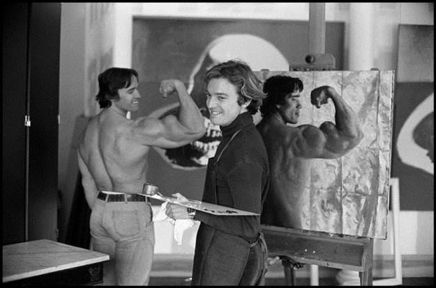 Awesome Vintage Photos Of Arnold Schwarzenegger 012