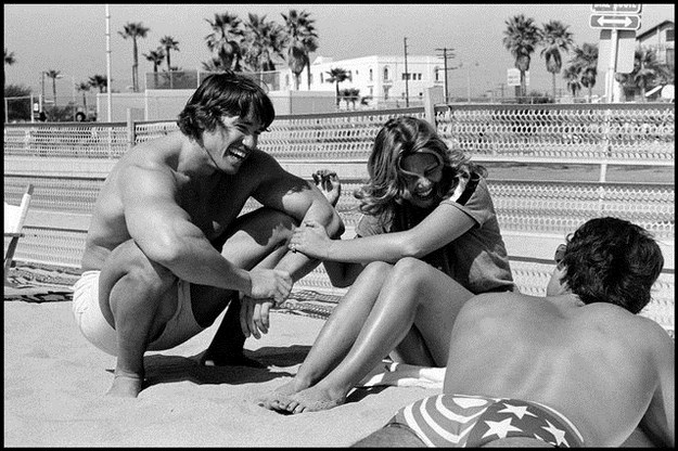 Awesome Vintage Photos Of Arnold Schwarzenegger 002