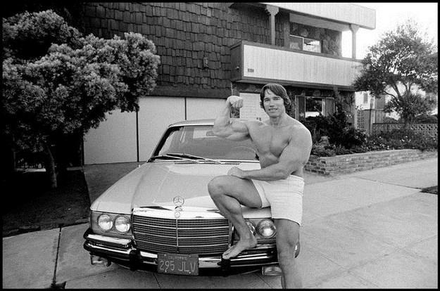 Awesome Vintage Photos Of Arnold Schwarzenegger 011