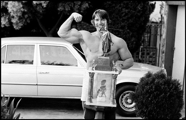 Awesome Vintage Photos Of Arnold Schwarzenegger 022